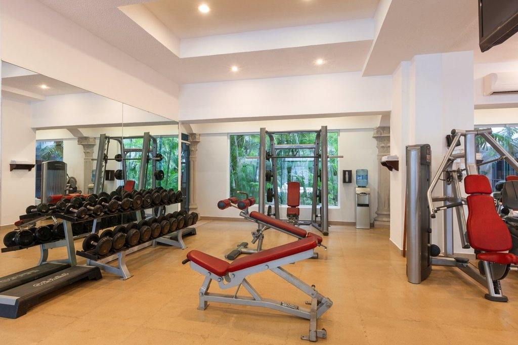 Hilton Playa del Carmen  - Fitness Centre <br/>Image from Leonardo