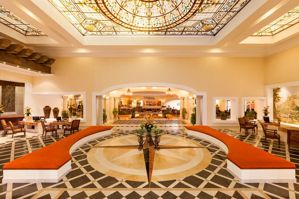 Hilton Playa del Carmen  - The Royal Playa Del Carmen Lobby <br/>Image from Leonardo