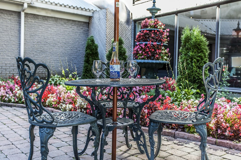 Le Nouvel Hotel and Spa - Outdoor Terrace <br/>Image from Leonardo
