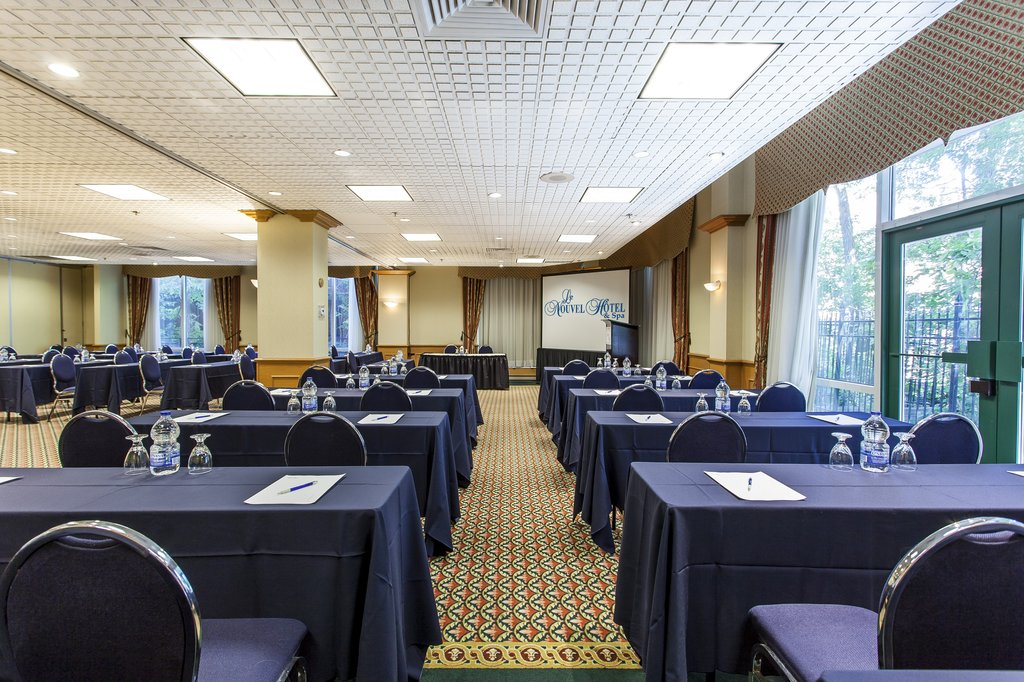 Le Nouvel Hotel and Spa - St Mathieu Meeting Room <br/>Image from Leonardo