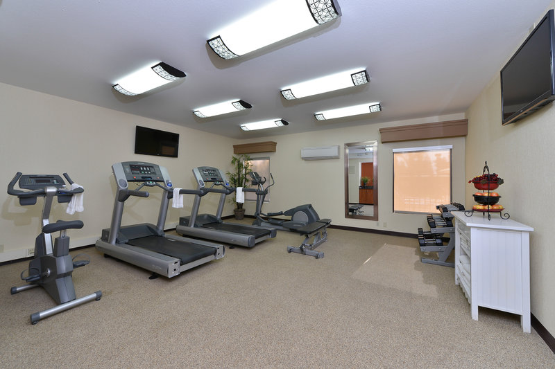 Best Western Plus Fresno Airport Hotel-Fitness Room<br/>Image from Leonardo