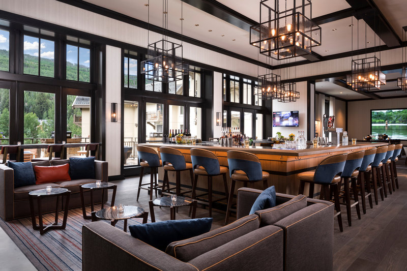 Four Seasons Resort Vail-VAI_The Remedy Center Bar TV<br/>Image from Leonardo