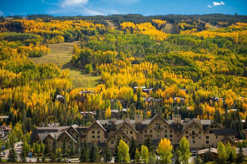 Four Seasons Resort Vail-VAI_Fall Exterior<br/>Image from Leonardo