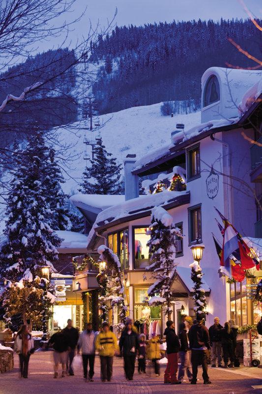 Four Seasons Resort Vail-VAI_Vail Village in Winter<br/>Image from Leonardo