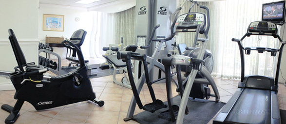 The Courtleigh-Courtleigh Hotel & Suites private gym<br/>Image from Leonardo
