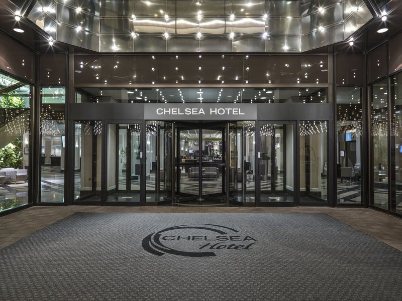 Chelsea Hotel Toronto-Bay Entrance<br/>Image from Leonardo