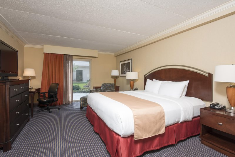DoubleTree by Hilton Grand Rapids Airport-King Bed Junior Suite Bedroom<br/>Image from Leonardo