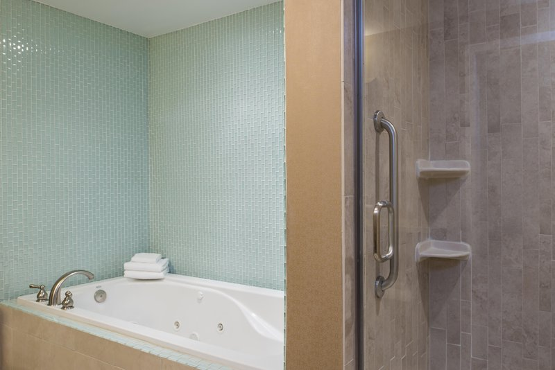 DoubleTree by Hilton Grand Rapids Airport-King Bed Junior Suite Bath<br/>Image from Leonardo