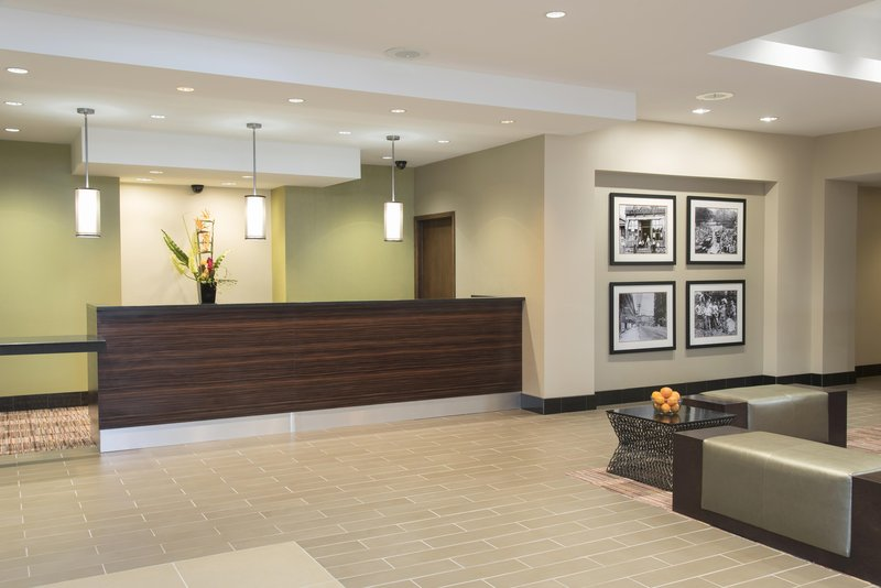 DoubleTree by Hilton Grand Rapids Airport-Hotel Lobby<br/>Image from Leonardo