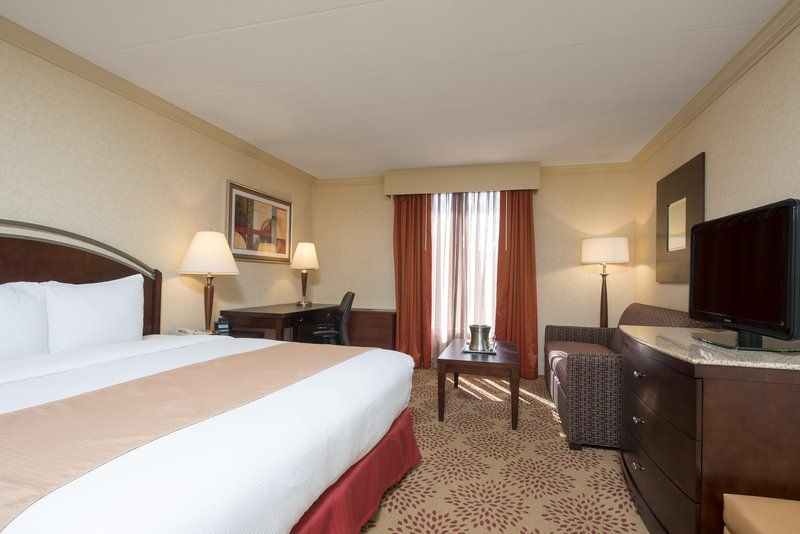 DoubleTree by Hilton Grand Rapids Airport-King Room<br/>Image from Leonardo