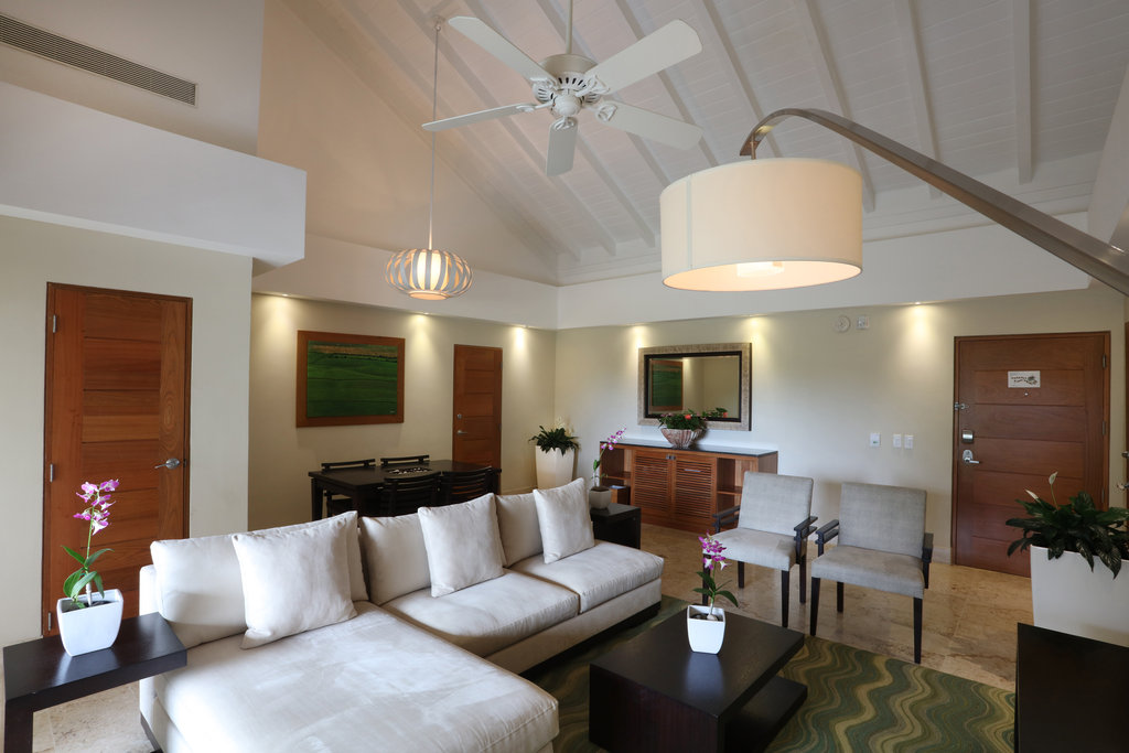 Casa De Campo - Elite Suite Seating Area <br/>Image from Leonardo
