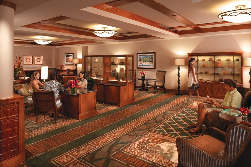 Outrigger Reef Waikiki Beach Resort - Outrigger Reef Waikiki Beach Resort Interior Lobby <br/>Image from Leonardo