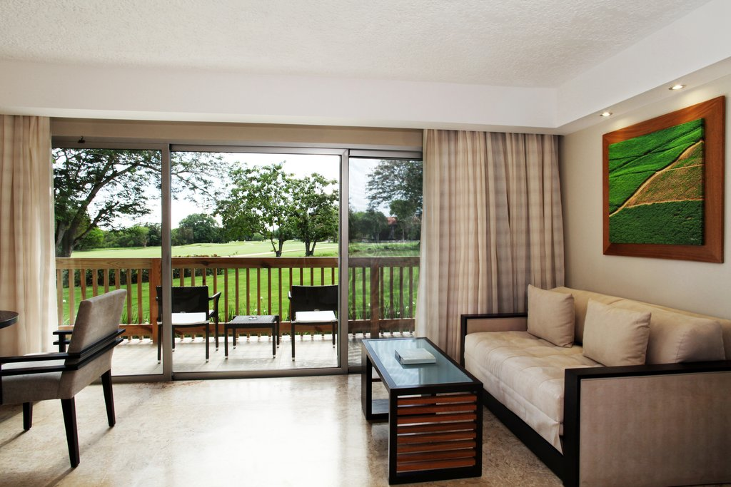 Casa De Campo - Elite Deluxe Room View Seating Area <br/>Image from Leonardo
