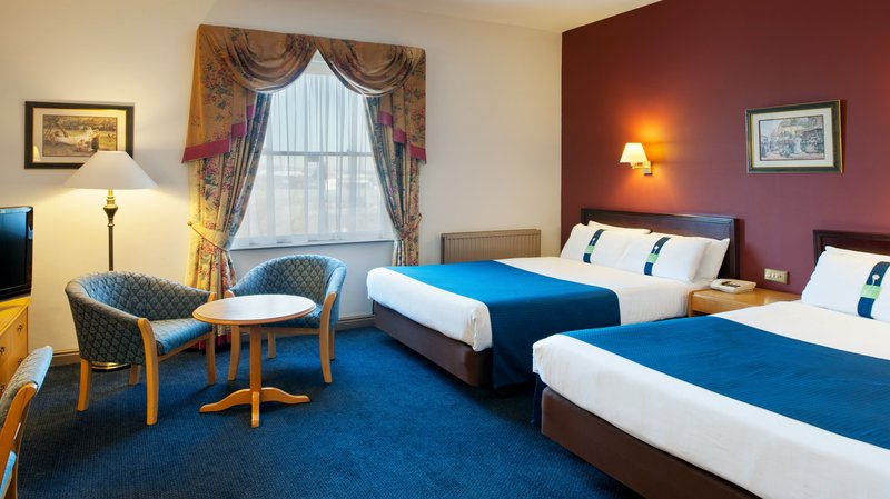 Holiday Inn Sheffield-2 double beds ideal for 4 adults<br/>Image from Leonardo