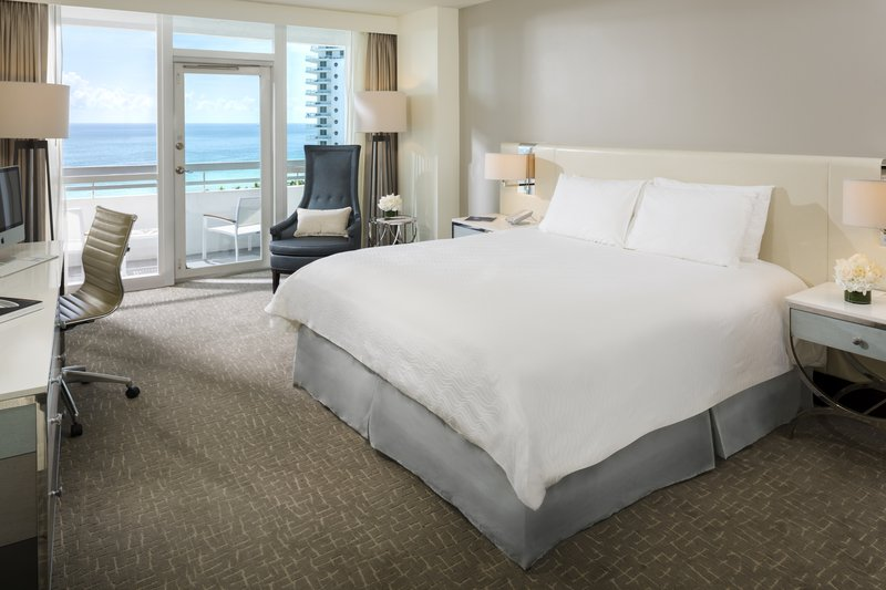 Fontainebleau Miami Beach - Ocean Front King With Balcony <br/>Image from Leonardo
