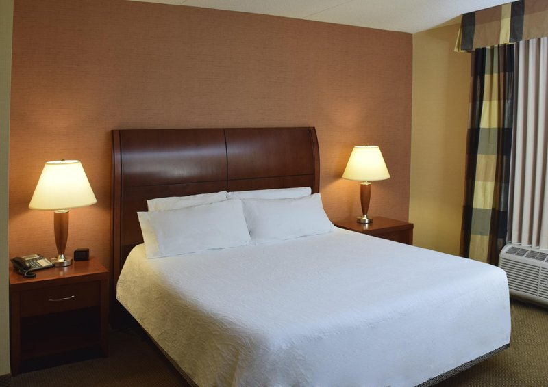 Hilton Garden Inn Dayton Beavercreek-1 King Suite Bed<br/>Image from Leonardo