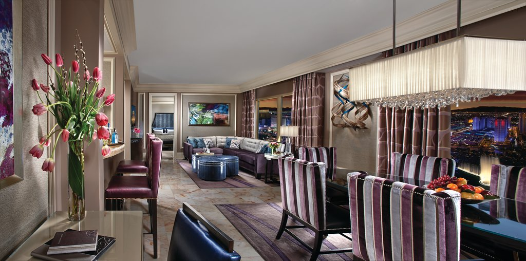 Bellagio - Two Bedroom Penthouse Suite Living Area <br/>Image from Leonardo