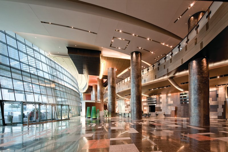 Aria Resort and Casino - North Valet <br/>Image from Leonardo