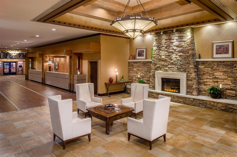 DoubleTree by Hilton Hotel Seattle Airport-Lobby-Reception<br/>Image from Leonardo