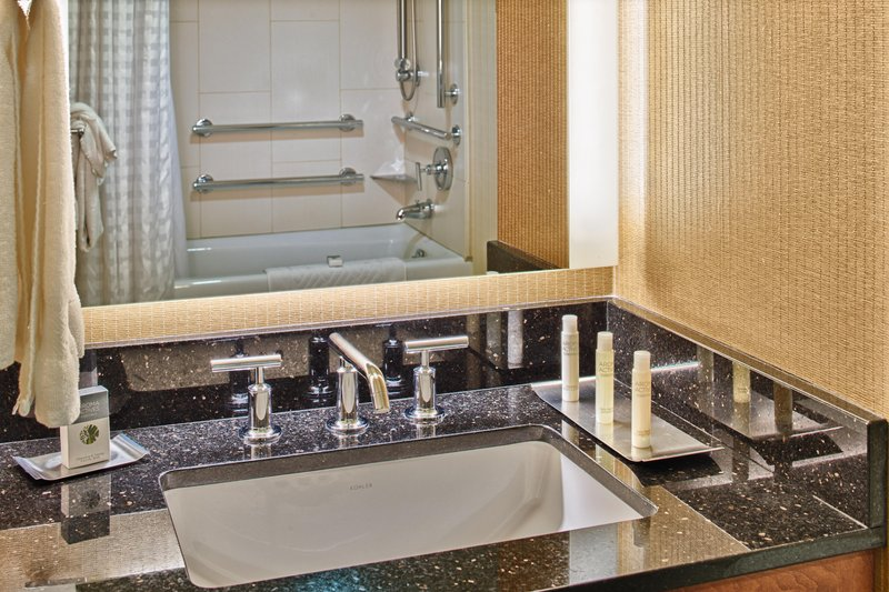 DoubleTree by Hilton Hotel Seattle Airport-Accessible Bath<br/>Image from Leonardo