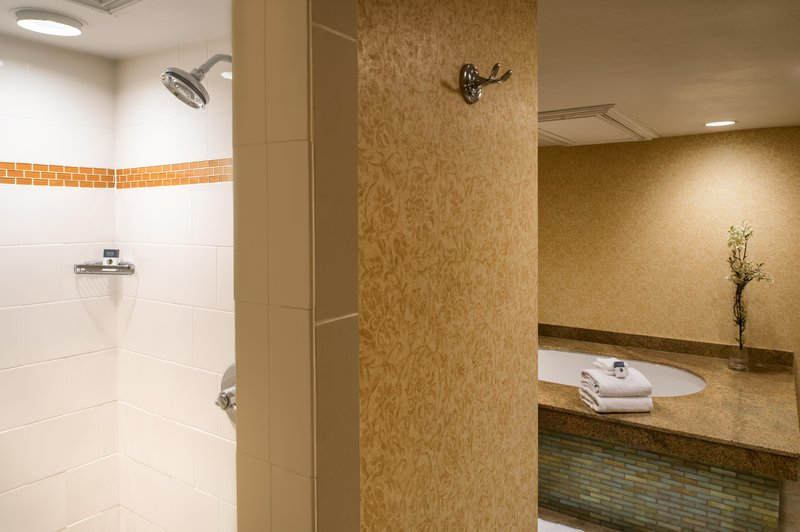 DoubleTree by Hilton Hotel Seattle Airport-King Suite Bathroom<br/>Image from Leonardo