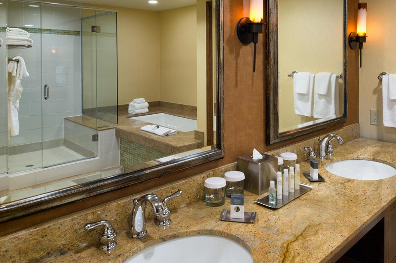 DoubleTree by Hilton Hotel Seattle Airport-King Suite Vanity<br/>Image from Leonardo