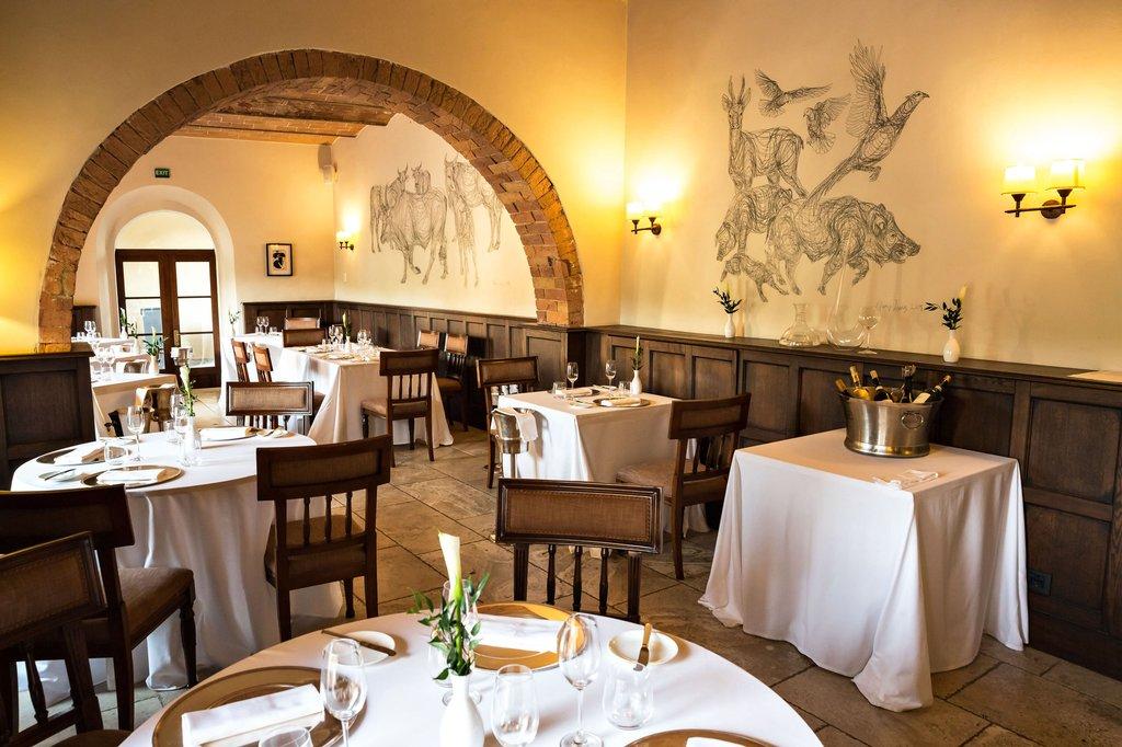 Castel Monastero-ContradaRestaurant<br/>Image from Leonardo