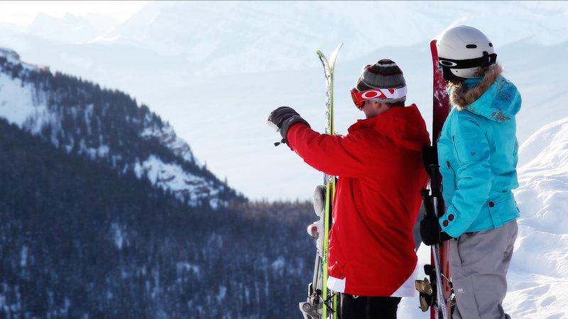 Lake Louise Inn-Skiing with a view<br/>Image from Leonardo