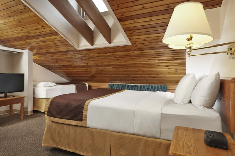 Lake Louise Inn-One Bedroom Condo Loft - Upstairs<br/>Image from Leonardo