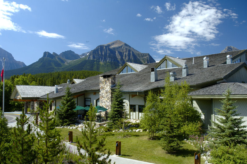 Lake Louise Inn-Canadian Rocky Mountain Views<br/>Image from Leonardo