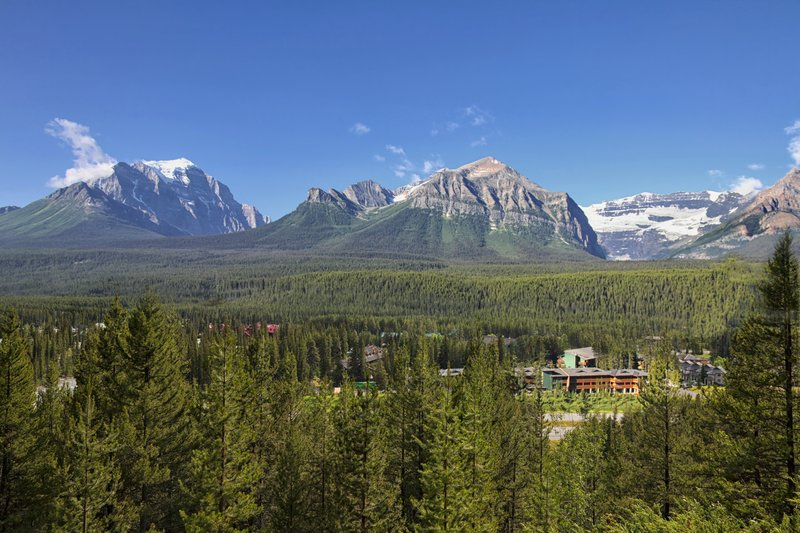Lake Louise Inn-Overview of Lake Louise<br/>Image from Leonardo