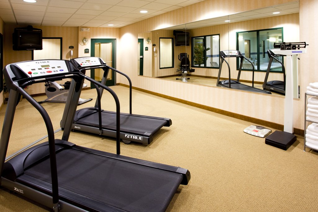 Holiday Inn Express Syracuse Airport-Cardio workout or visit Planet Fitness nearby<br/>Image from Leonardo