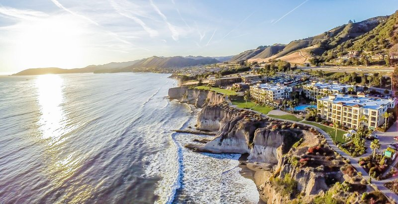 Dolphin Bay Resort and Spa-Google Aerial May<br/>Image from Leonardo