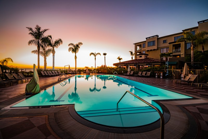Dolphin Bay Resort and Spa-Pool Sunset<br/>Image from Leonardo