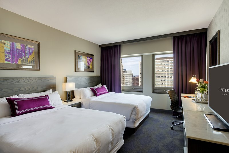 InterContinental Saint Paul Riverfront-Double Bed Guest Room<br/>Image from Leonardo