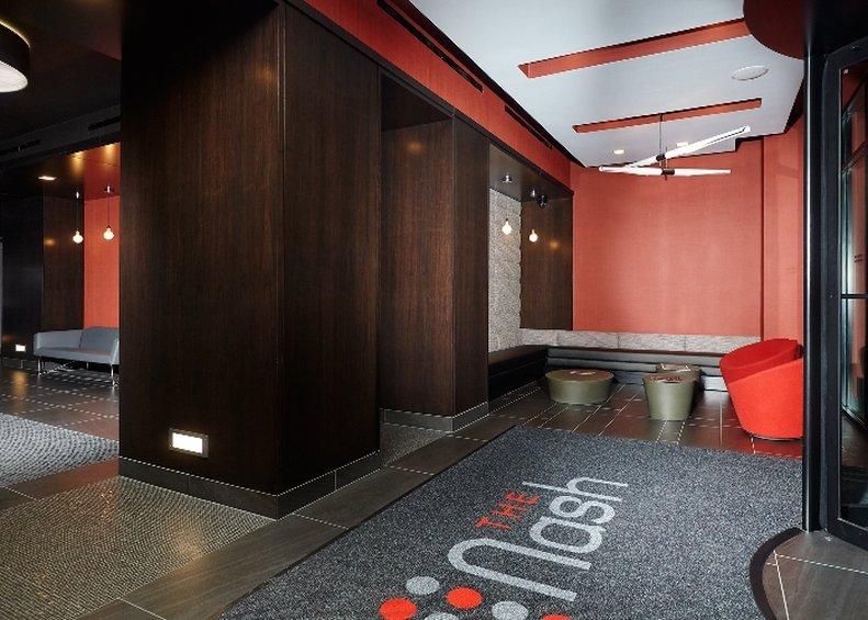 222 The Nash Apartments-Lobby The Nash<br/>Image from Leonardo
