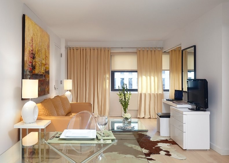 222 The Nash Apartments-Living Dining One Bedroom The Nash<br/>Image from Leonardo