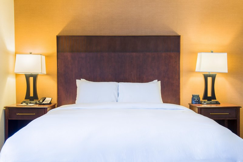 DoubleTree by Hilton Hotel Philadelphia Airport-King Corner Suite Bed<br/>Image from Leonardo