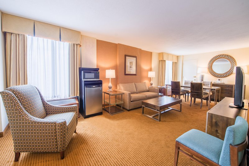 DoubleTree by Hilton Hotel Philadelphia Airport-King Suite Living Room<br/>Image from Leonardo