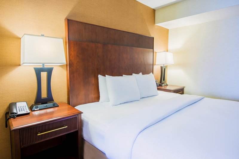 DoubleTree by Hilton Hotel Philadelphia Airport-King Suite Bedroom<br/>Image from Leonardo