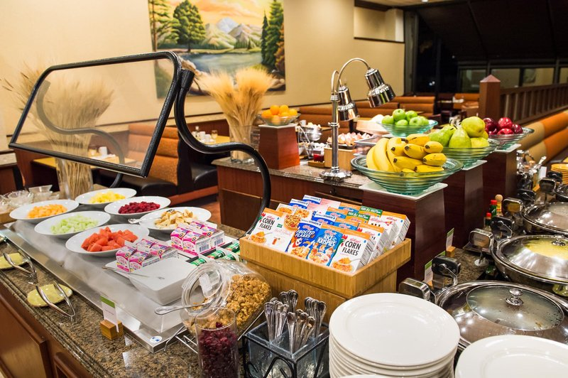DoubleTree by Hilton Hotel Seattle Airport-CGBuffet Closeup<br/>Image from Leonardo