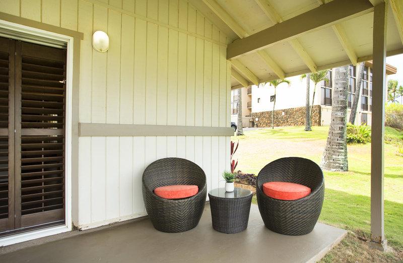 Hilton Garden Inn Kauai Wailua Bay Wailua Bay-Hilton Garden Inn Kauai Wailua Bay Cottage Lanai<br/>Image from Leonardo