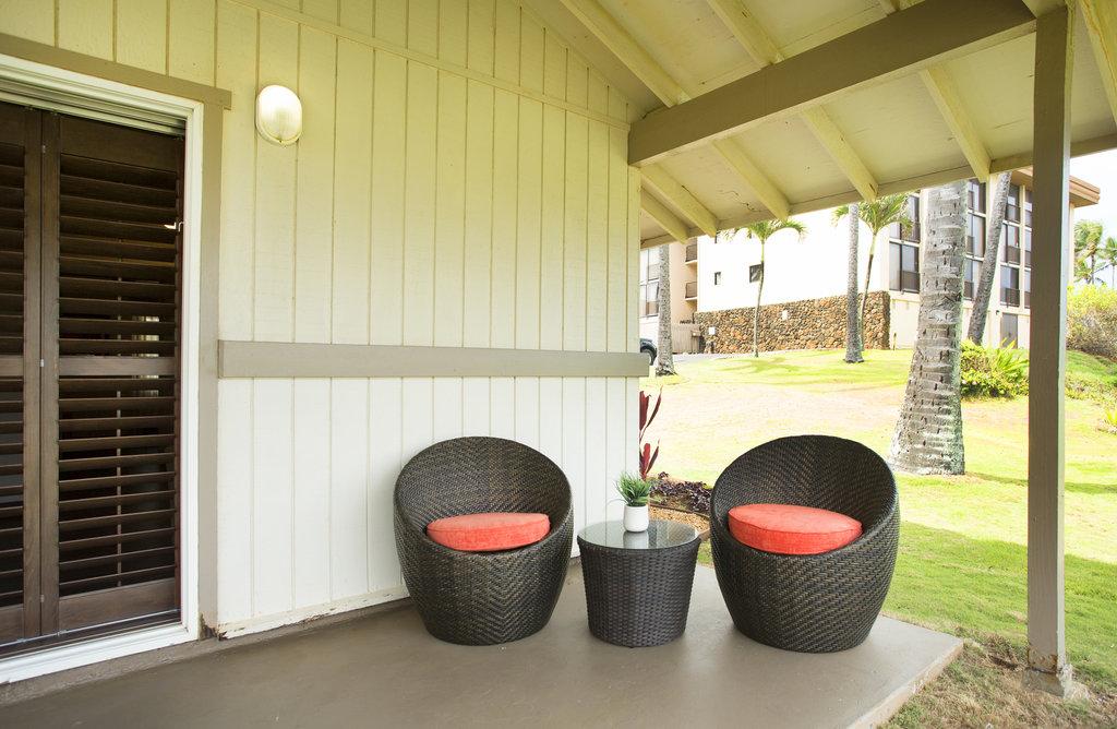Hilton Garden Inn Kauai Wailua Bay Wailua Bay - Hilton Garden Inn Kauai Wailua Bay Cottage Lanai <br/>Image from Leonardo