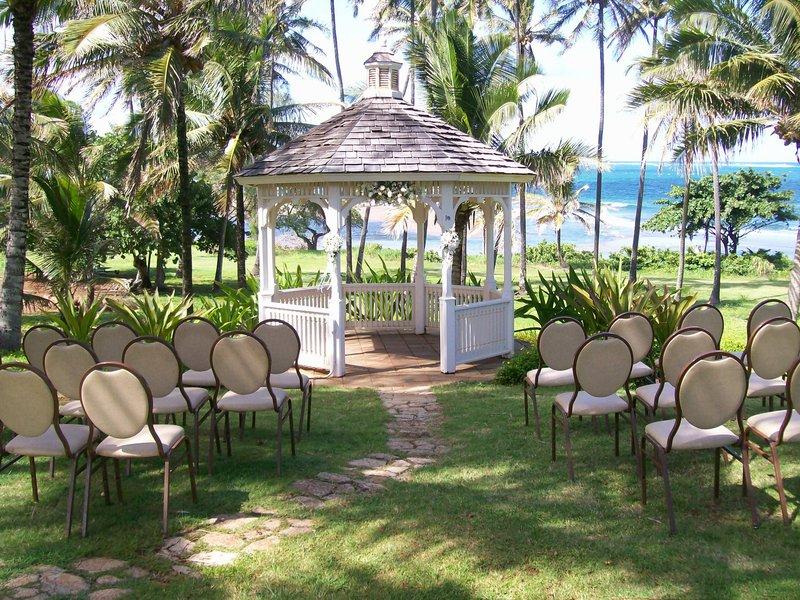 Hilton Garden Inn Kauai Wailua Bay Wailua Bay-Hilton Garden Inn Kauai Wailua Bay Wedding Gazebo<br/>Image from Leonardo