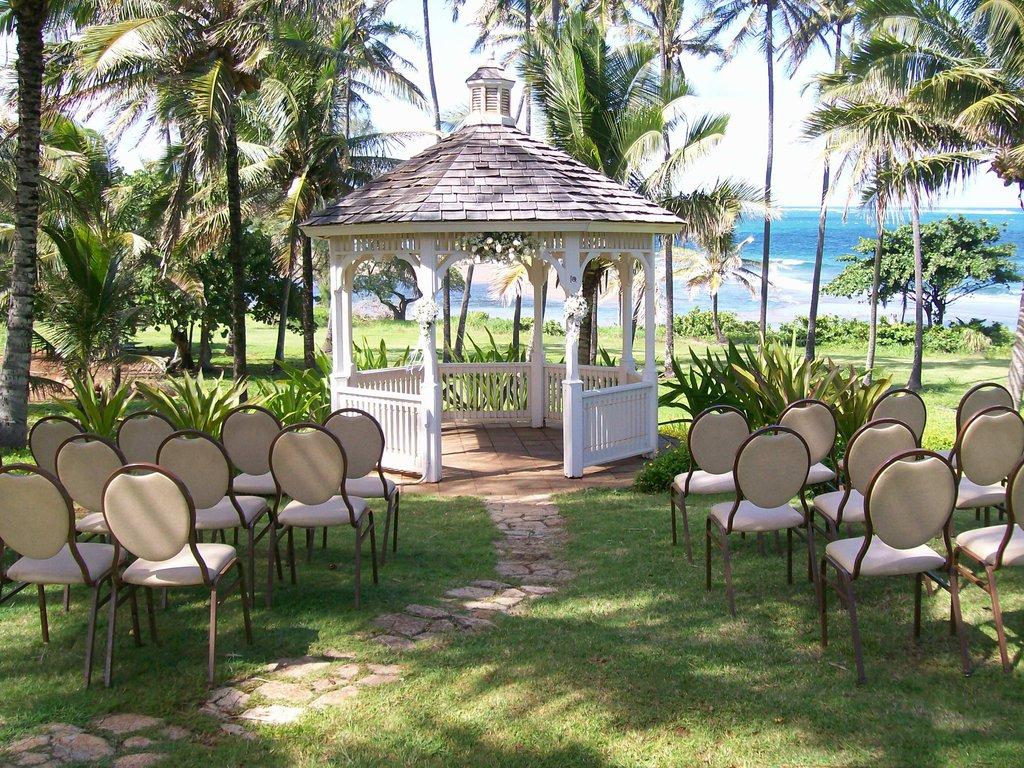 Hilton Garden Inn Kauai Wailua Bay Wailua Bay - Hilton Garden Inn Kauai Wailua Bay Wedding Gazebo <br/>Image from Leonardo