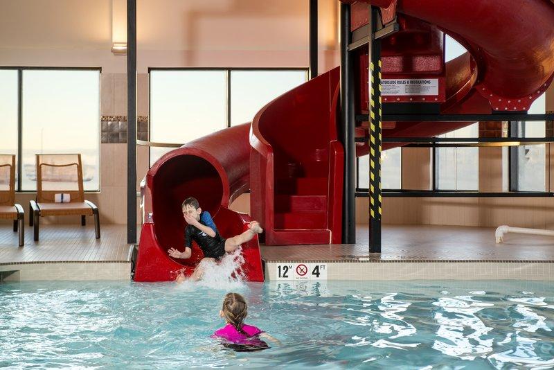 Courtyard Calgary South-Courtyard Calgary South Indoor Pool Kids<br/>Image from Leonardo