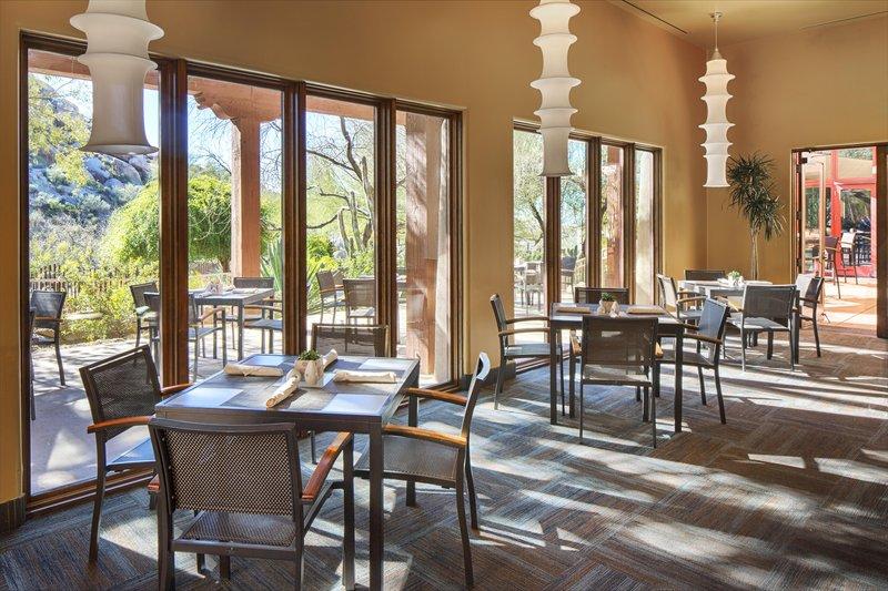 Boulders Resort & Spa, Curio Collection by Hilton-Spa Café<br/>Image from Leonardo