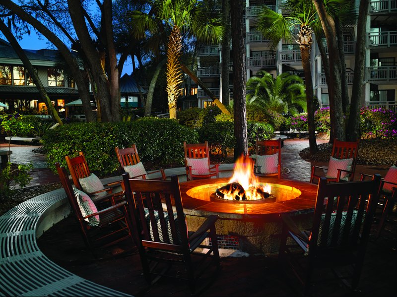 Omni Hilton Head Oceanfront Resort-Firepit<br/>Image from Leonardo