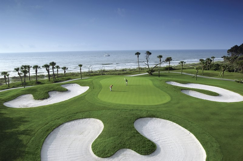 Omni Hilton Head Oceanfront Resort-Golfing by the ocean<br/>Image from Leonardo