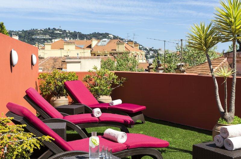 Citadines Croisette-Terrace of Citadines City Croisette Cannes<br/>Image from Leonardo